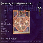 Jerusalem, thou high-built city - Liszt, Reger, etc / Roloff
