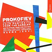 Classics - Prokofiev: Semyon Kotko Op 81, etc / Neeme J&auml;rvi, Scottish NO