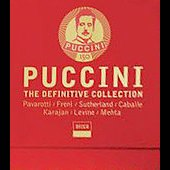 Puccini - The Definitive Collection / Pavarotti, Freni, Sutherland, et al