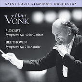 Saint Louis Symphony Orchestra - Mozart, Beethoven / Vonk, St. Louis SO