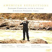 American Reflections - Beaser, Foss, Dahl / Leonard Garrison, Jonathan Sokasits