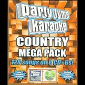 Sybersound: Party Tyme Karaoke: Country Mega Pack [Box] *