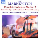 Markevitch: Complete Orchestral Works Vol 2 / Lyndon-Gee, et al