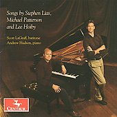 Lias, Patterson, Hoiby: Songs / Scott LaGraff, Andrew Hudson