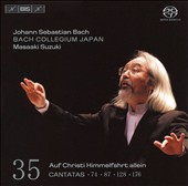 Bach: Cantatas Nos. 74, 87, 128, & 176 [Hybrid SACD]