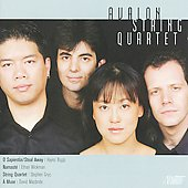 Avalon String Quartet plays Biggs, Wickman, Gryc