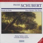 Schubert: Rondo for Violin, Piano Quintet 