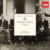 Michael Nyman: String Quartet No.4; Three Quartets