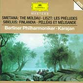 Smetana: Moldau;  Liszt: Les Preludes;  Sibelius / Karajan