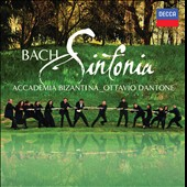 Bach: Sinfonia / Ottavio Dantone and Accademia Bizantina