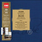 Elgar & Delius: Cello Concertos; Songs of Farewell; Sea Pictures. / Jacquelin du Pre, cello; Janet Baker  [Limited Ed.]