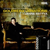 Bach: Goldberg Variations / Janne Rattya, accordion