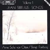 Sibelius: Songs / Anne Sophie von Otter, Bengt Forsberg