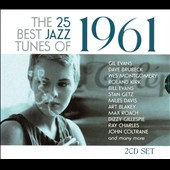 Various Artists: The  25 Best Jazz Tunes of 1961