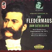 J. Strauss: Die Fledermaus / Bonynge, Sutherland, et al