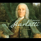 Domenico Scarlatti: A Selection of Sonatas / Pieter-Jan Belder; Michelangelo Carbonara, Luigi Attademo, Mie Miki