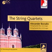 Alexander Borodin: The 2 String Quartets / St. Petersburg String Quartet
