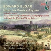 Edward Elgar: Music for Powick Asylum / Innovation Chamber Ensemble