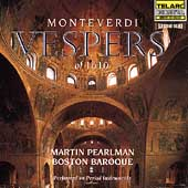 Monteverdi: Vespers of 1610 / Pearlman, Boston Baroque