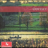 Odyssey: New Music for Viola by American Women Composers - Larsen, Bond, Matthews, Tann, Wei / Hsiaopei Lee, viola; Chialing Hsieh, piano