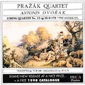 Dvor&aacute;k: String Quartet no 12, Terzetto, Bagatelles / Praz&aacute;k
