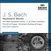 Collectors Edition: J.S. Bach: Keyboard Works: The Well-Tempered Clavier; 2 & 3 Part Inventions; Art of the Fugue; Chromatic Fantasy & Fugue / Kenneth Gilbert, harpsichord   [10 CDs]