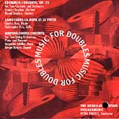 Music for Doubles - Krommer, Saint-Saëns, Martinu / Tiboris