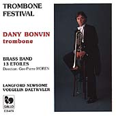 Trombone Festival / Dany Bonvin, Brass Band 13 &#201;toiles