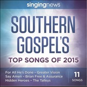 Various Artists: Singing News Southern Gospel Songs of 2015