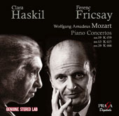 Mozart: Piano Concertos Nos. 13, 19 & 20 / Cara Haskil, piano; Ferenc Fricsay, Berlin Philharmonic Orchestra