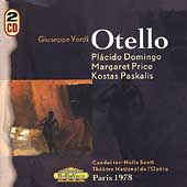 Verdi: Otello / Santi, Domingo, Price, Paskalis, et al