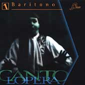 Cantolopera - Baritone Vol 1