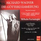 Wagner: Die G&ouml;tterd&auml;mmerung /Furtw&auml;ngler, Flagstad, Melchior