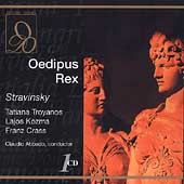 Stravinsky: Oedipus Rex / Abbado, Troyanos, Kozma, Crass