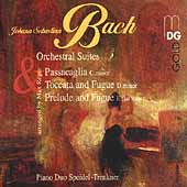 Bach: Orchestral Suites, etc arranged by Max Reger