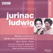 Strauss, Mahler, Brahms: Lieder / Jurinac, Ludwig, et al