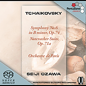 Tchaikovsky: Symphony no 6, Nutcracker Suite / Ozawa