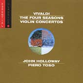 Vivaldi: Four Seasons, Violin Concertos / Holloway, et al