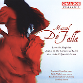 Classics - Falla: Love the Magician, etc / Simon, London SO