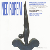 Rorem: Piano Concerto for Left Hand, etc / Graffman, Previn