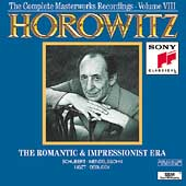 Horowitz Vol VIII - The Romantic & Impressionist Era