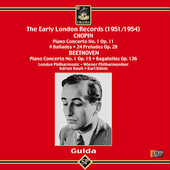 Gulda - The Early London Records 1951 - 1954 / Boult, Böhm
