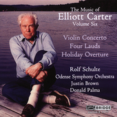 Music of Elliott Carter Vol 6 / Rolf Schulte, Donald Palma