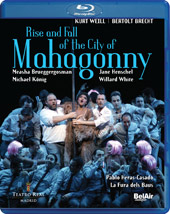Weill: Rise & Fall of the City of Mahagonny / Brueggergosman, Henschel [Blu-Ray]