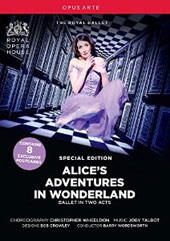 Joby Talbot: Alice's Adventures in Wonderland, ballet in two acts / Lauren Cuthbertson,Sergei Polunin, Edward Watson, Zenaida Yanowsky. Barry Wordsworth, Royal Opera [DVD]