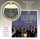 Various Artists: Jazz in California, 1923-1930
