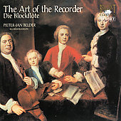 The Art of the Recorder / Belder, Zipperling, van Delft