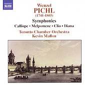 Pichl: Symphonies / Kevin Mallon, Toronto Chamber Orchestra
