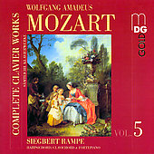 Mozart: Complete Clavier Works Vol 5 / Rampe