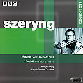 Vivaldi: Four Seasons, etc;  Mozart / Szeryng et al